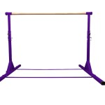Purple Adjustable Gymnastics Bar